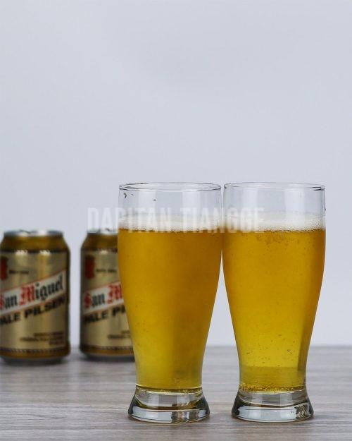 Dapitan Tiangge 12oz Beer Glasses (6 Pack)