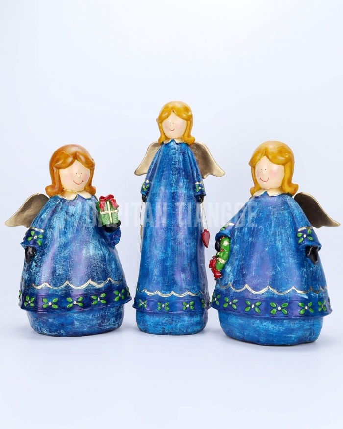 Dapitan Tiangge 3pc Holiday Angels Christmas Decor