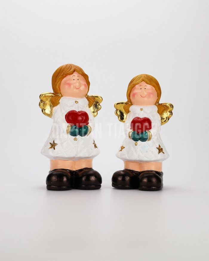 Dapitan Tiangge 2pc Adorable Angel Figurine Home Decor