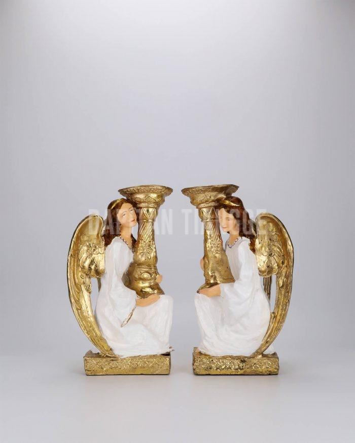 Dapitan Tiangge 2pc Guardian Angels Candle Holder Home Decor