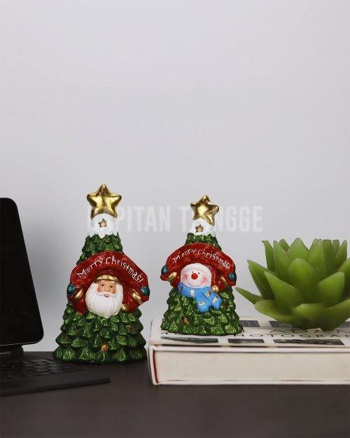 Dapitan Tiangge 2Pc Mini Tabletop Christmas Tree Christmas Decor