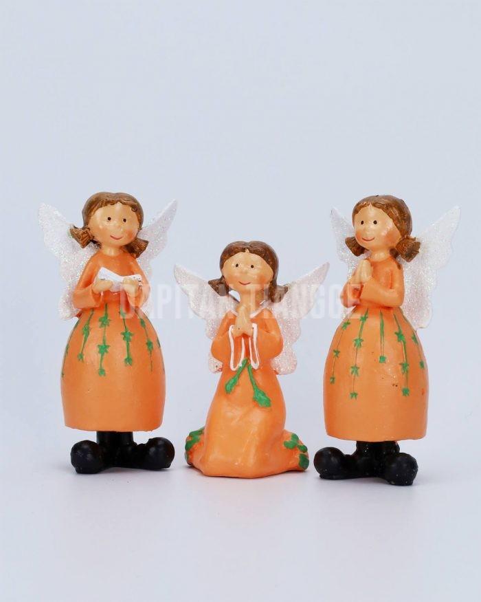Dapitan Tiangge 3pc Cute Praying Angels Home Decor