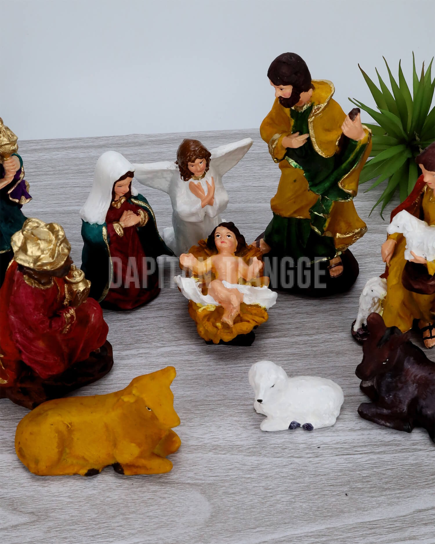 "Dapitan Tiangge 7"" Nativity Set"