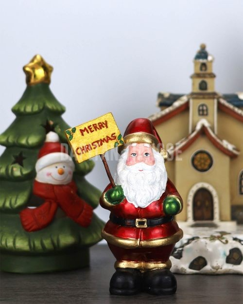 Dapitan Tiangge A Very Merry Christmas Santa Greeting Tabletop Christmas Decor