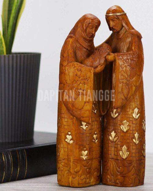 Dapitan Tiangge Faux Wood Holy Family Home Decor