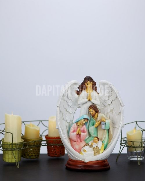Dapitan Tiangge Holy Family with Guardian Angel Nativity Scene