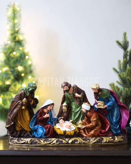 Dapitan Tiangge Modern Classic Nativity Set