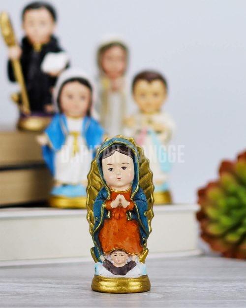 Dapitan Tiangge Our Lady of Guadalupe Chibi Home Decor