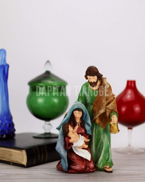 Dapitan Tiangge Pastel Holy Family Nativity Set