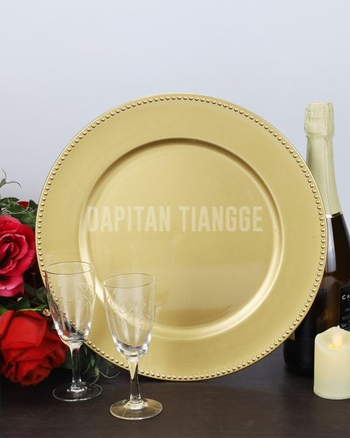 Dapitan Tiangge Plastic Charger Plates