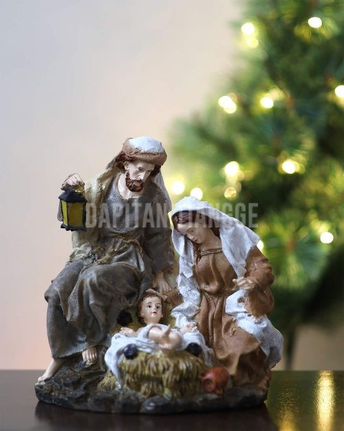 Dapitan Tiangge Rustic Vintage Like Holy Family Nativity Set