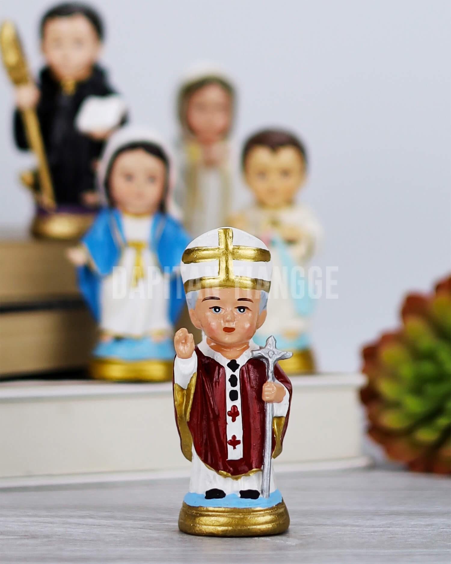 Dapitan Tiangge Saint Pope John Paul II Chibi Home Decor