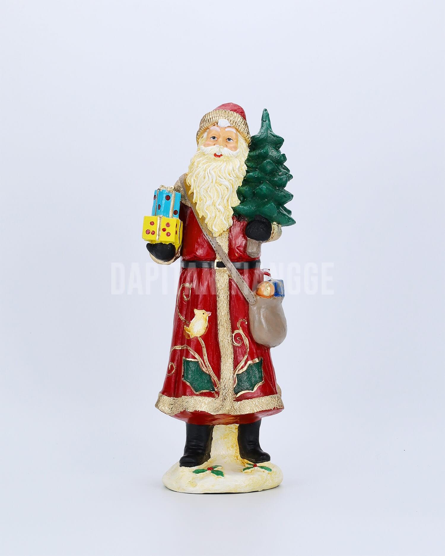 Dapitan Tiangge Santa Carrying Gifts and Christmas Tree Decor