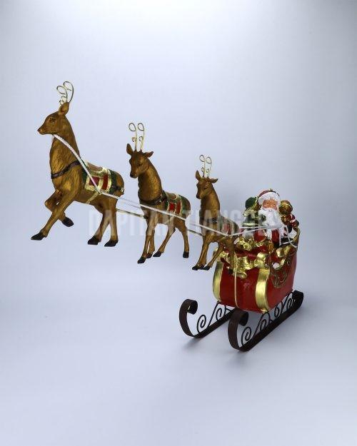 Dapitan Tiangge Santa Claus on a Sleigh Christmas Decor
