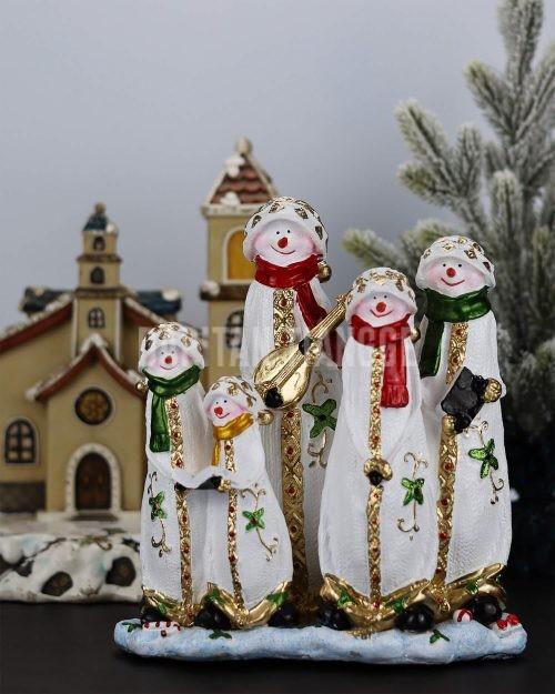 Dapitan Tiangge Singing Snowman Family Christmas Decor