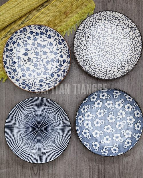 Dapitan Tiangge Small Japanese Plates Set