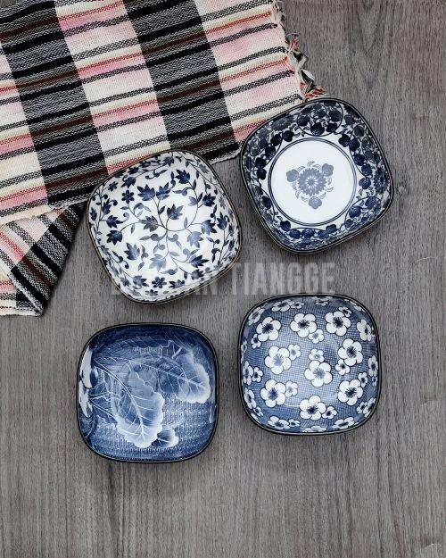 Dapitan Tiangge Small Square Japanese Bowls